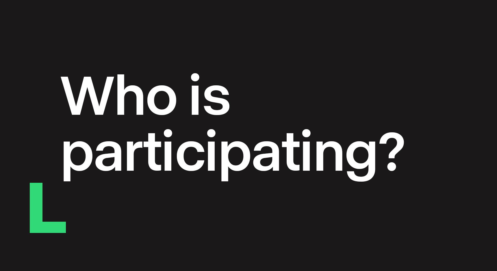 Participation Main image